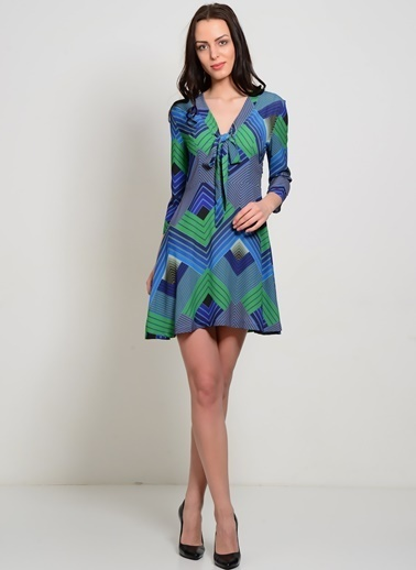 Liquorish Elbise Yeşil
